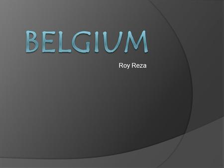 Roy Reza Belgium flag Belgium map Facts Belgium is a hereditary constitutional monarchy. The current monarch is King Albert II, who took the oath of.