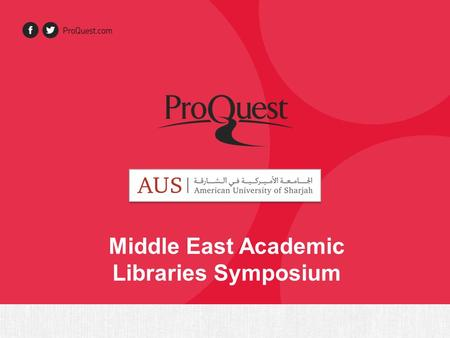 Middle East Academic Libraries Symposium. Background about Jisc Collections Jisc Collections is the UK library consortium representing 160 higher education.