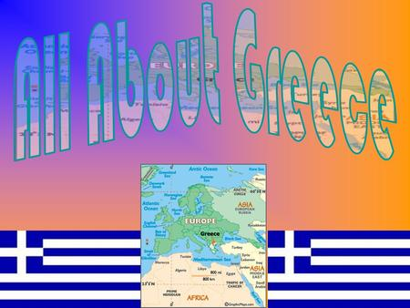 The Flag of Greece consists of nine blue and white alternating horizontal stripes with a blue square on the top left that contains a white cross.  Greece.