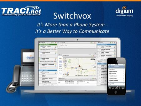 Find out How Switchvox is a Better Way to Communicate: