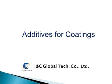 Additives for Coatings