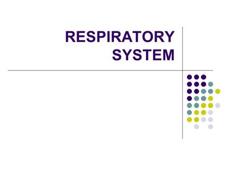 RESPIRATORY SYSTEM. Definition and Function Respiration is the process of breathing in and out When we breathe in we are inhaling oxygen (O 2 ) When we.