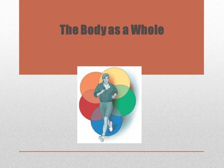 The Body as a Whole. Learning Objectives Copyright © 2013, 2011, 2007, 2003 by Saunders, an imprint of Elsevier Inc. 2 1.Recognize the relationship of.