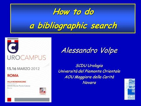 a bibliographic search
