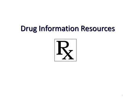 Drug Information Resources 1. 2 The Growth of Medical Information Indexed Citations Added to MEDLINE (i.e. PubMed) by Fiscal Year ?? U.S. National Library.