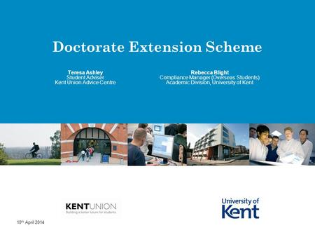 Doctorate Extension Scheme