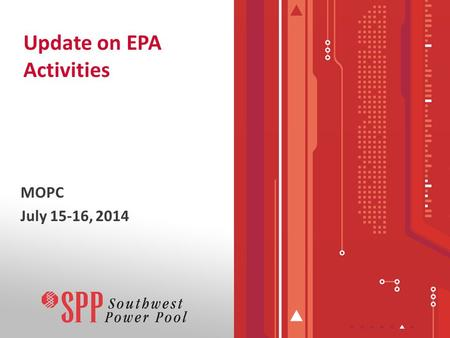 Update on EPA Activities MOPC July 15-16, 2014. Current Known Impacts –Retirements –De-ratings –Outage Impact Studies Proposed Clean Power Plan 2 Topics.