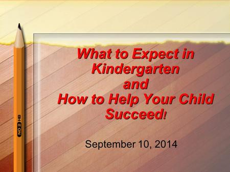 What to Expect in Kindergarten and How to Help Your Child Succeed!