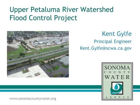 Upper Petaluma River Watershed Flood Control Project