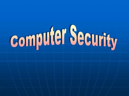 Computer viruses Hardware theft Software Theft Unauthorized access by hackers Information Theft Computer Crimes.