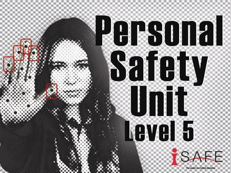 The Plan Today you will be learning about personal safety when online. This unit consists of four mini lessons. The slide show covers all lessons.