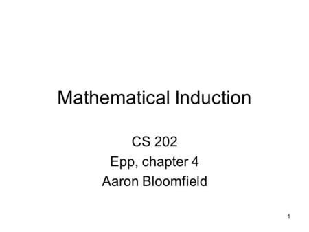 mathematical induction examples in discrete mathematics pdf
