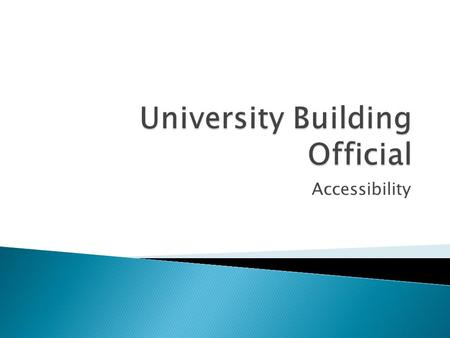 Accessibility.  A building code is a set of rules that specify the minimum acceptable level of safety for buildings. The main purpose of building codes.