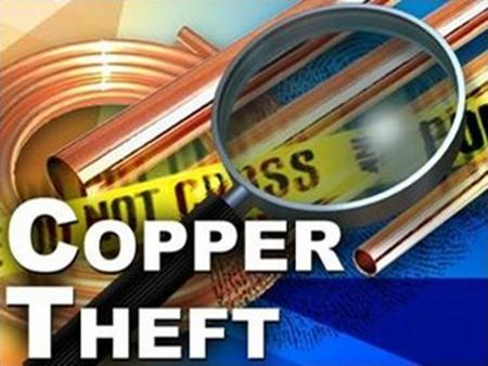 Copper Theft. It Affects More Than Just Utilities… Transportation Systems: Railroad equipment, highway lighting Transportation Systems: Railroad equipment,