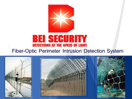 Fiber-Optic Perimeter Intrusion Detection System.