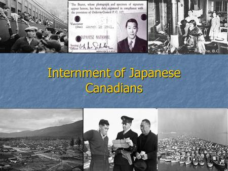 Internment of Japanese Canadians. Stages of Japanese Aggression RECALL… Japanese Expansion 1931-1937- Manchuria and China Japanese Expansion 1931-1937-