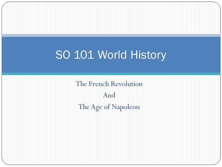 french revolution and global history period French revolution genre: new releases was a period of radical social and political upheaval in french and european history this global discussion group has.