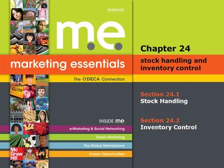 Chapter 24 stock handling and inventory control Section 24.1