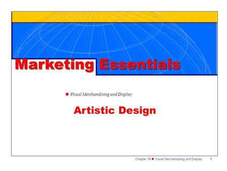Marketing Essentials Artistic Design
