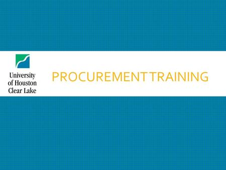 PROCUREMENT TRAINING. TABLE OF CONTENTS  Procurement Department Location and Staff ………………………………………………. 3  P-cards and Vouchers ……………............................................................................
