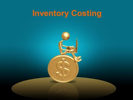 Inventory Costing. Average-Cost Method … computes the average cost of all goods available for sale during the period in order to determine the value of.