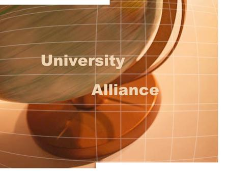 University Alliance. Partnership with Bisk Education, Inc. Other schools Currently have one graduate program in University Alliance.