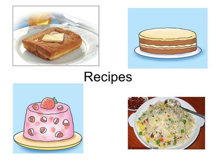 Recipes. Tiramisu Strawberry Pudding Fried rice French toast.