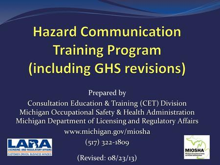 Globally Harmonized System Ghs And Your Hazard