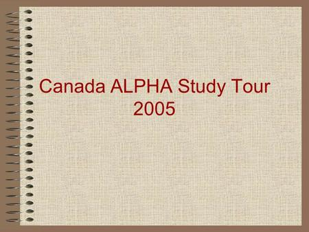 Canada ALPHA Study Tour 2005. Readings The Rape of Nanking by Iris Chang Factories of Death by Sheldon Harris Human Rights in the Asia Pacific 1931- 1945.