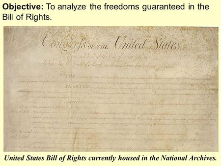 "an analysis of the bill of rights in the constitution Check out our featured constitution day lesson plan ""the constitutional convention"" from bill of rights institute constitution day 2017 for teachers."