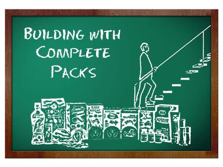 Building With Complete Packs. What is the TOTAL personal sponsoring REQUIREMENT to advance to the TOP of the PAY PLAN?