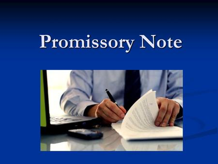 Promissory Note. A promissory note is a legal document (more particularly, a financial document), in which one party (the maker or issuer) promises in.