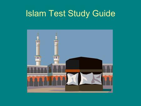 Islam Test Study Guide. What is an oasis AND why are they important on the Arabian Peninsula? An oasis is a fertile area in the middle of the desert.