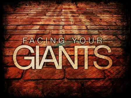 "What do Giants look like? David vs. Goliath (I Samuel 17) ""This day I defy the ranks of Israel! Give me a man and let us fight each other"" – I Samuel."