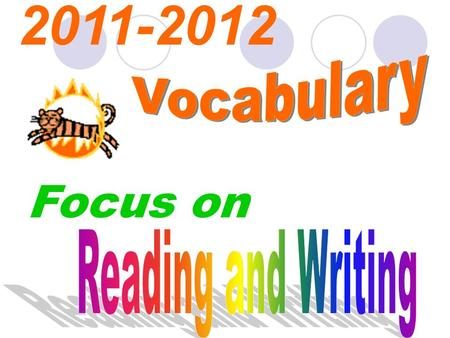 Focus on 2011-2012. ? ? ? ? ? Can you spell each ? ?? ?? word ? ? ? ? ? ? ? correctly ? ? ? ? ?