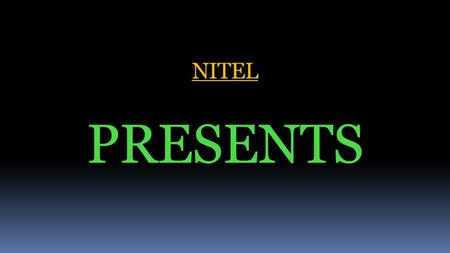 NITEL PRESENTS Myth About Jobs in IT Sector India is losing its global Status at a fast pace as Technology Power House of the World in Information Technology.