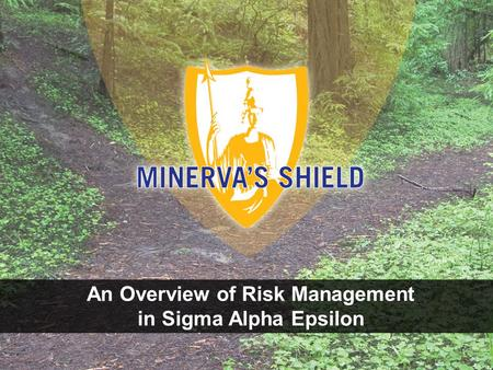 An Overview of Risk Management in Sigma Alpha Epsilon.