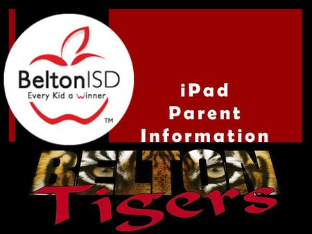 IPad Parent Information. Important Dates for LBMS & SMBS iPad Rollout  8 th Grade- Wednesday September 3  7 th Grade- Thursday, September 4  6 th Grade-