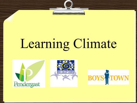 Learning Climate. Participant Outcomes: Participants will have a clear understanding of the TIIES rubric descriptors for learning climate. Participants.