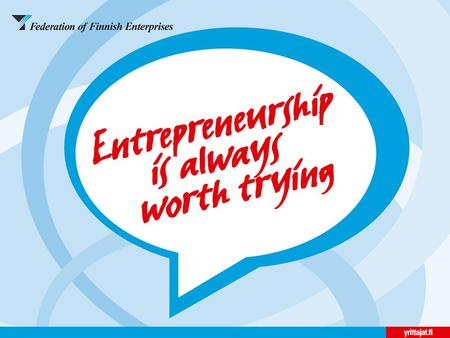 What is entrepreneurship?  Entrepreneurship is an attitude towards working; it is a way of thinking and acting. Entrepreneurial attitude is needed if.