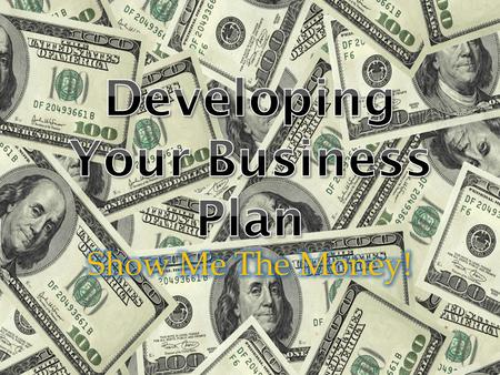 Developing Your Business Plan