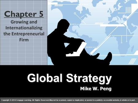 Growing and Internationalizing the Entrepreneurial Firm