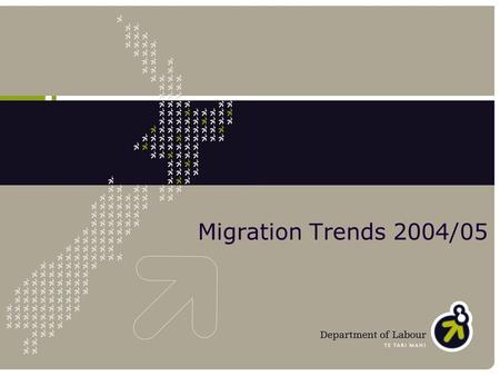 Migration Trends 2004/05. What's new in the 04/05 report? Migration in a broader context External migration Temporary flows Temporary to residence Gender.