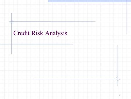 1 Credit Risk Analysis. 2 What is a bond? A long-term debt instrument in which a borrower agrees to make payments of principal and interest, on specific.