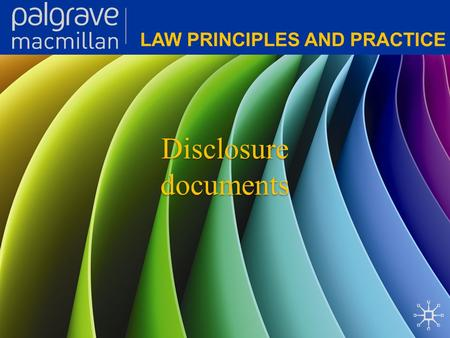 Disclosure documents. Corporate Law: Law principles and practice Overview A significant objective of the Corporations Act 2001 (Cth) is to encourage investment.