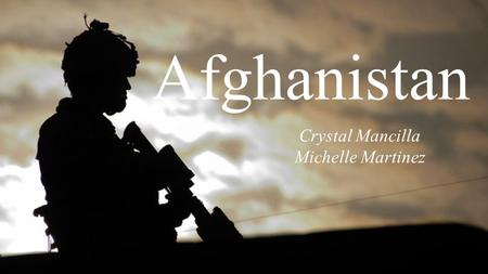 Afghanistan Crystal Mancilla Michelle Martinez. Brezhnev's Foreign Problems.