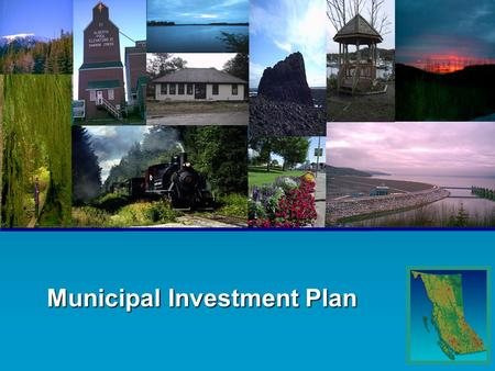 Municipal Investment Plan. Agenda What Me Save? Guide Saving for Retirement Understanding Your Group Plan Developing Your Investment Strategy Monitoring.