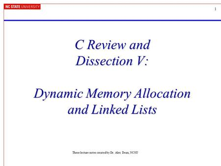 dynamic memory allocation in c pdf