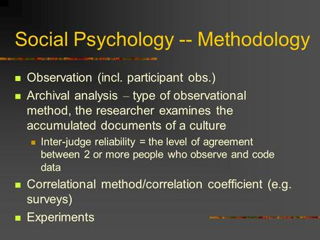 social psychology an analysis of cults