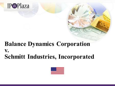 Balance Dynamics Corporation v. Schmitt Industries, Incorporated.